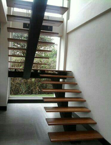 Best 36 Trendy Floating Stairs Steel Woods Stairs Design 400 x 300