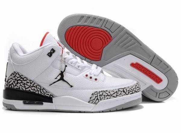 Air Jordan 3 Retro White Black Cement