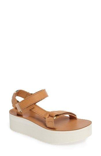 4e4534e2994 Free shipping and returns on Teva Universal Flatform Sandal (Women) at  Nordstrom.com