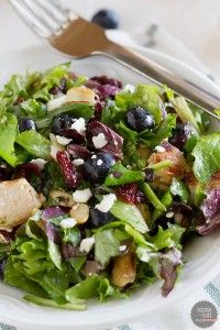Berry Balsamic Chopped Salad Recipe - Taste and Tell