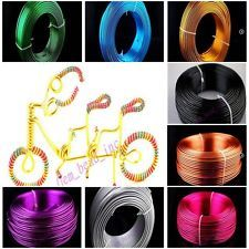 1mm 1.5mm 2mm Aluminum Wire Jewelry Making Craft Wrap 2Meter 15Color New 1.56