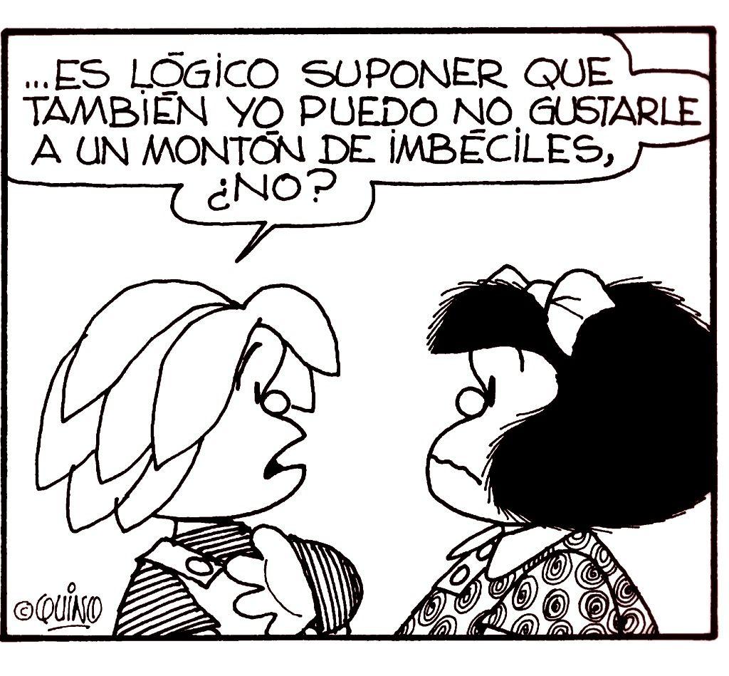 Mafalda #quino #quotes Like & Repin. Noelito Flow. Noel ...