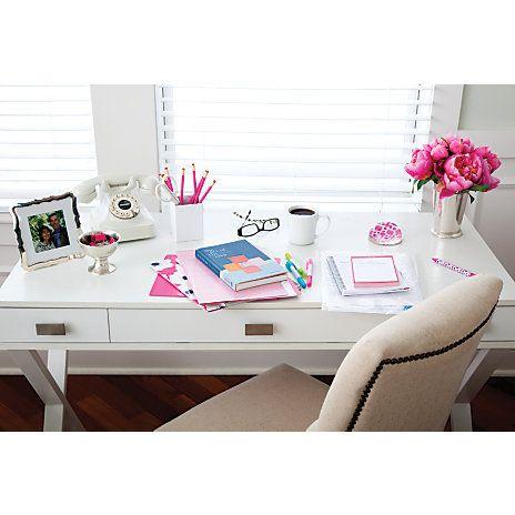 See Jane Work Kate Writing Desk White Item 384419 White