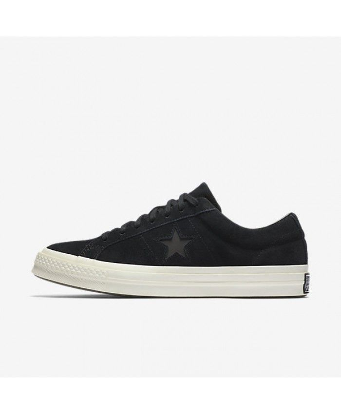 Converse One Star Suede Low Top Black 158477C 001
