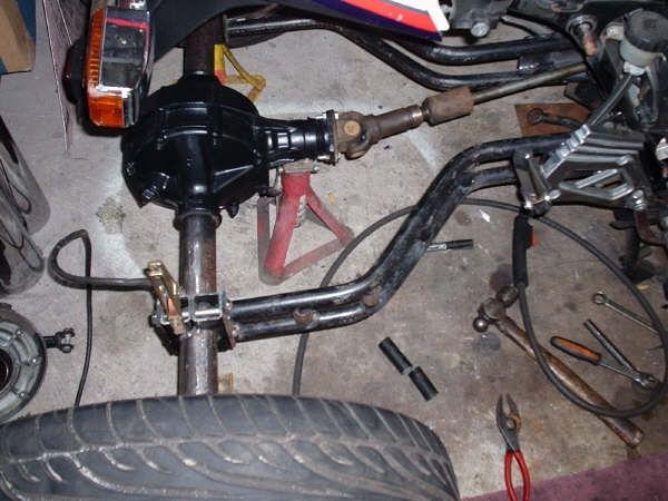 Homemade+Trike+Axle+Car+Tuning   Trikes   Reverse trike, Car