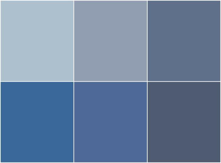 nuances de peinture bleu gris tendance utiliser dans la chambre le salon ou la