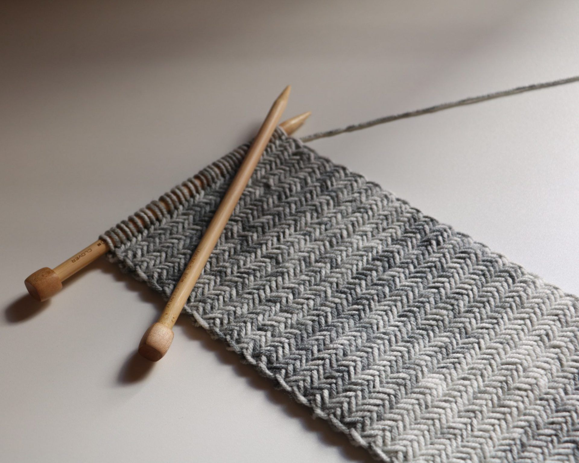 Herringbone Knit Scarf | Herringbone stitch, Herringbone and Scarves