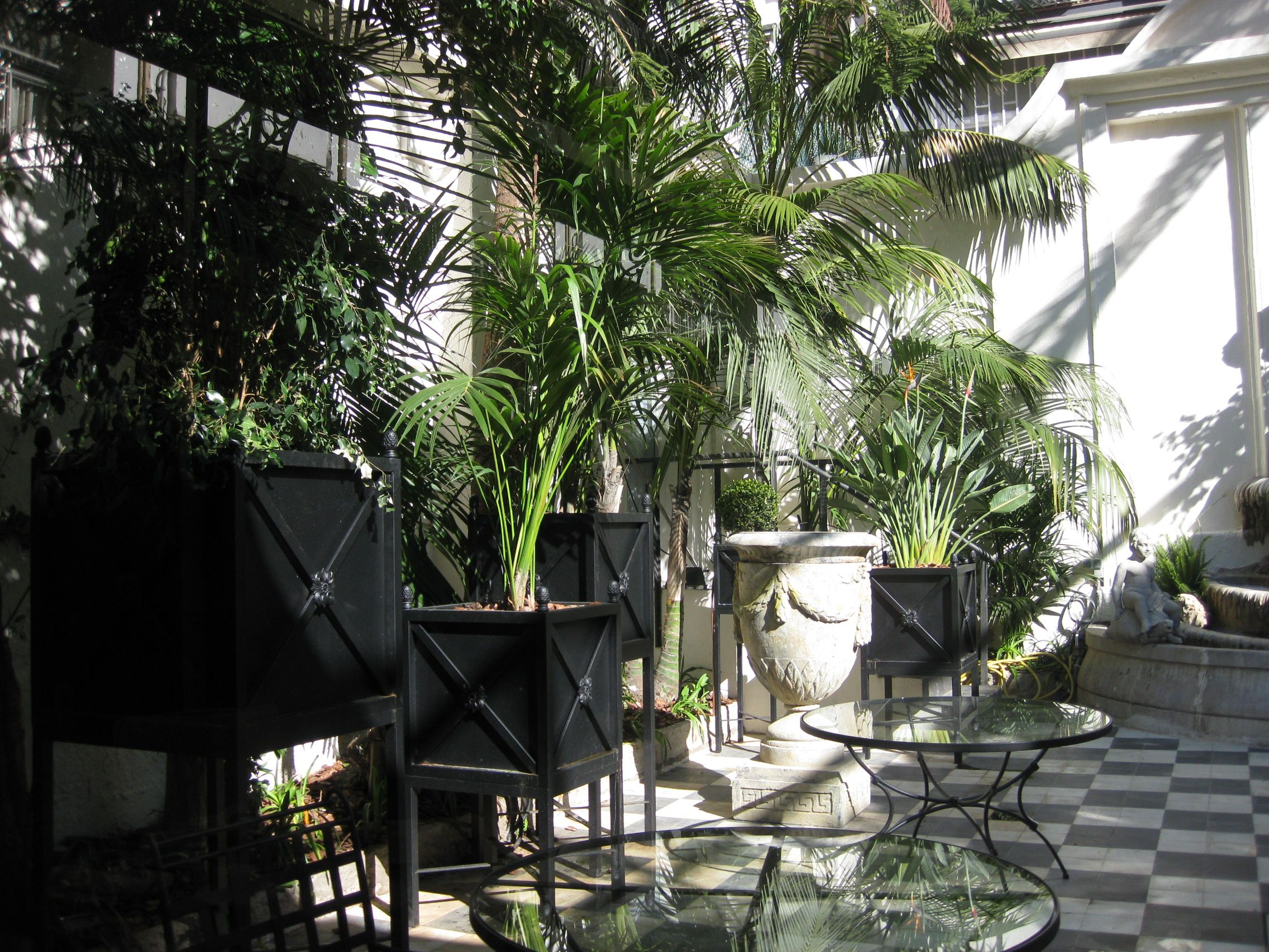 Mobiliario KD Contract Restaurante Terraza Hotel Palace