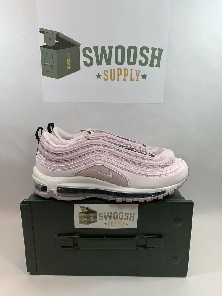 timeless design 9d8e0 cee10 Nike Air Max 97 Pale Pink Pale Pink-Violet Ash 921733 602 Womens 10