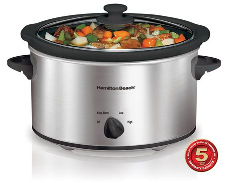 Home, Furniture & DIY Hamilton Beach Progammable Slow Cooker Crock Pot Oval Home Cooking Kitchen