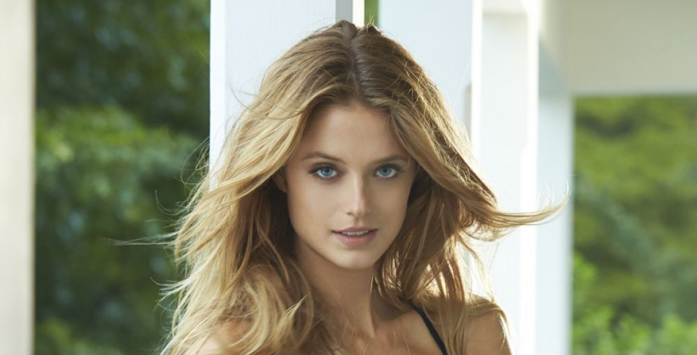 Kate Bock Photoshoot for Sports Illustrated Swimsuit Top
