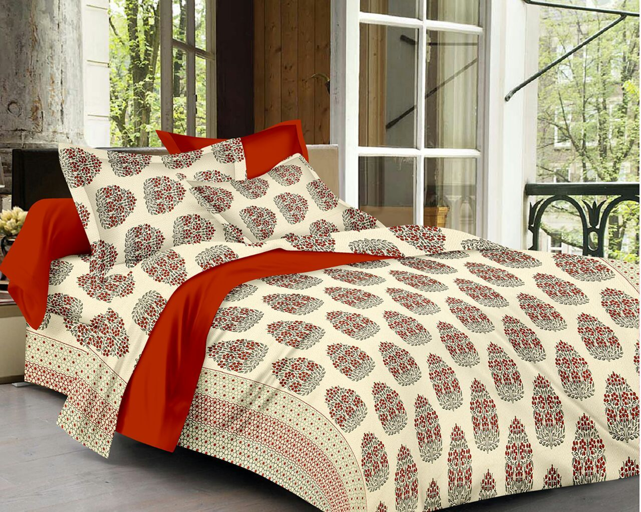 "Get Rs.50 off on bedsheets! Use coupon code ""Bedsheet50"