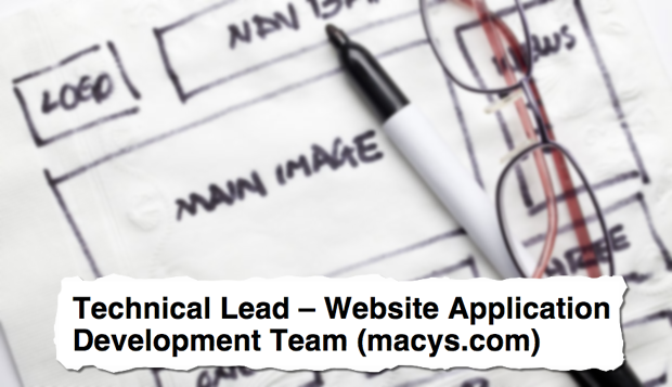 Job Descriptions Decoded: Technical Lead - Website Application ...