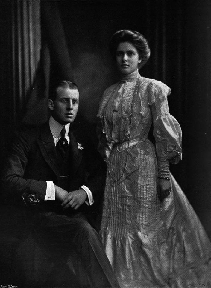 Andreas Von Griechenland Und Seine Frau Alice Von Battenberg Princess Alice Of Battenberg Greek Royal Family Princess Alice