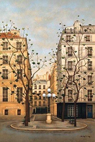 Place Furstenberg Andre Renoux Avec Images Peintre Peinture