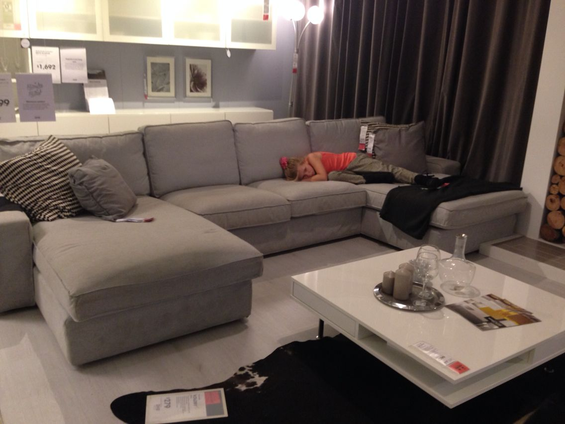 Ikea Kivik Sofa Family Living Rooms Small Room Decor