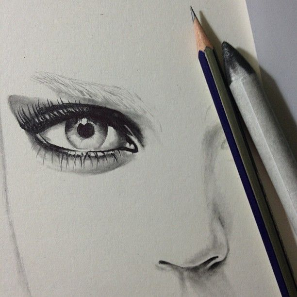 Amazing.  I think this picture has inspired me to start drawing faces again.