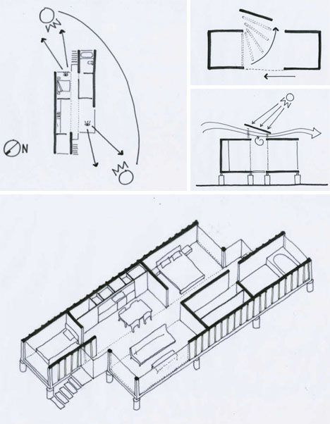 Container houses  House floor plans and Floor plans on Pinterest