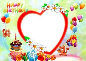 Birthday Frame Png Images Free Download In 2020 Happy Birthday Frame Happy Birthday Photos Happy Frames