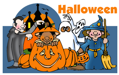 several Halloween themed book activities