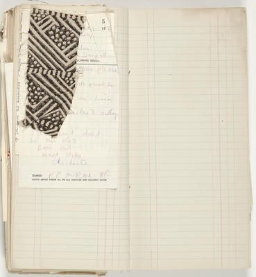 Phyllis Barron and Dorothy Larcher order book