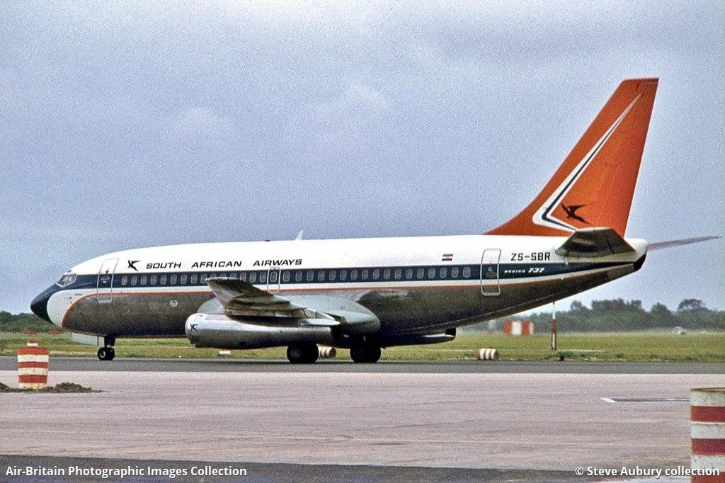 South African Airways Boeing 737 244 South African Airways Aircraft Painting Air Photo