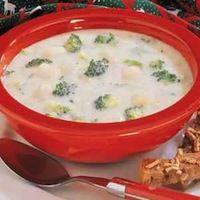 Potato Broccoli Soup (Gluten Free)