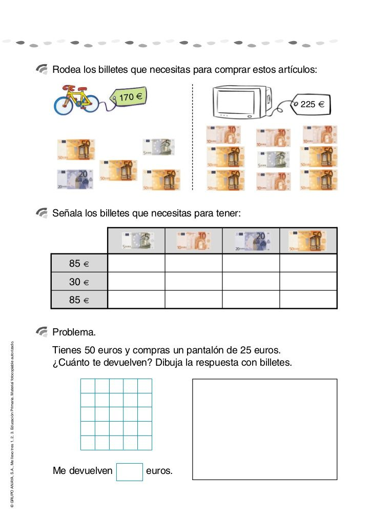112d0ab55a379225363757b2768093d2 Maths Worksheets Money Euro on free touch, free printable 4th grade, for second grade, for grade 1, third grade, first grade counting,