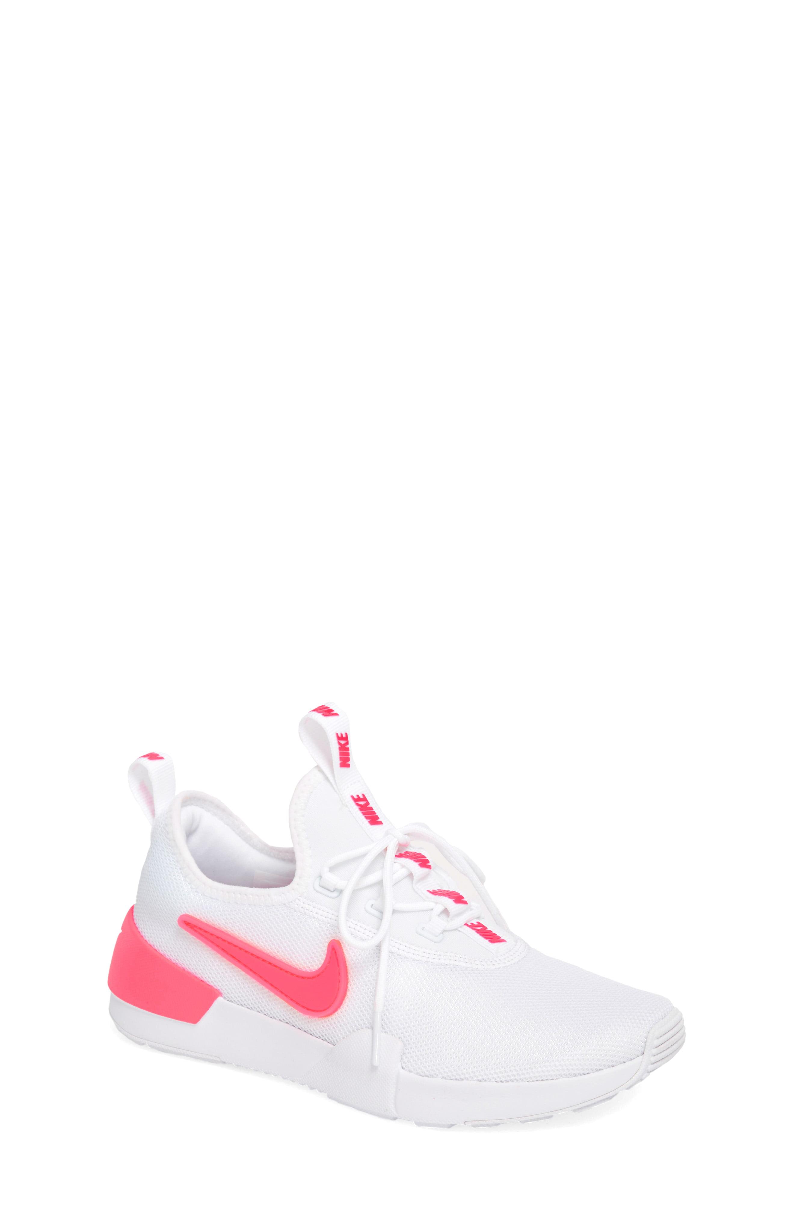 d58e4035 Girl's Nike Ashin Modern Sock Knit Sneaker, Size 3.5 M - White ...
