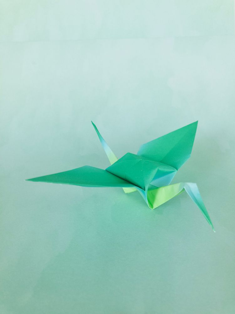 how to make a paper crane (tutorial) origami crane - YouTube | 1000x750