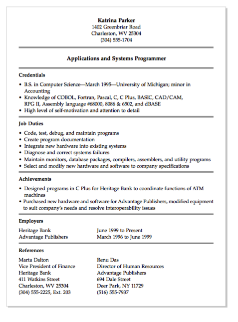 Free Choreographer Resume Example ResumecompanionCom  Resume
