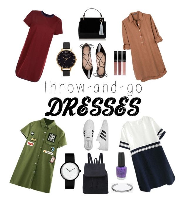 """Which one will you choose?"" by nominjiguur on Polyvore featuring New Look, United by Blue, Kate Spade, adidas, Olivia Burton, Maison Margiela and OPI"
