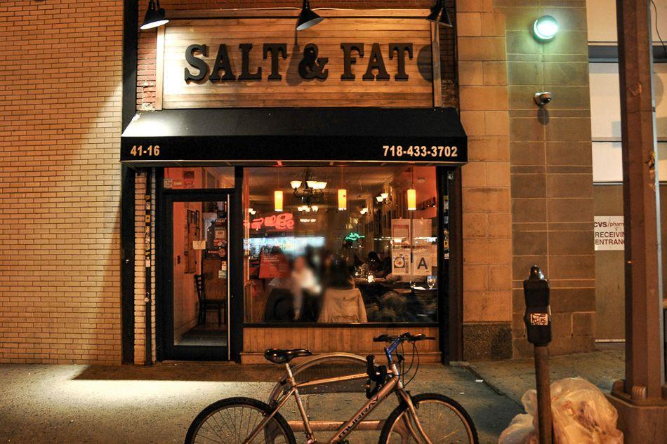 One Of The Best Asian American Fusion Restaurants In Nyc Queens Http Www Nyhabitat Com Blog 2014 04 21 N Nyc Neighborhoods New York City Restaurant Salt