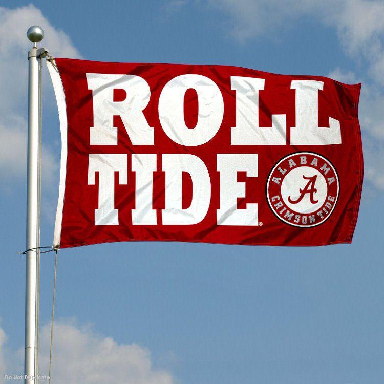 Alabama Crimson Tide Banner Flag Roll Tide Double Sided Alabama Crimson Tide Alabama Roll Tide Alabama Crimson Tide Football