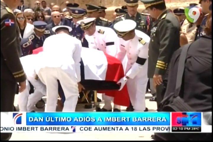 Dan Último Adiós A Antonio Imbert Barreras