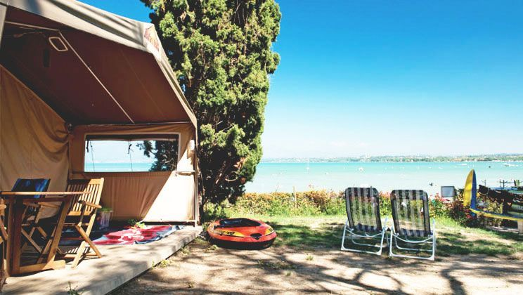 Bella Italia Lake Garda Safari Tent Lake View Safaritent With