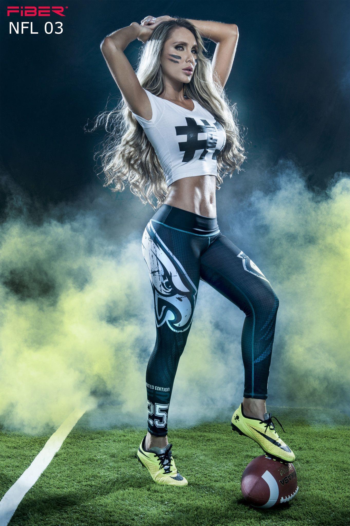 d3d64be7 Philadelphia Eagles - NFL leggings. Can i have her stomach? :/ | All ...