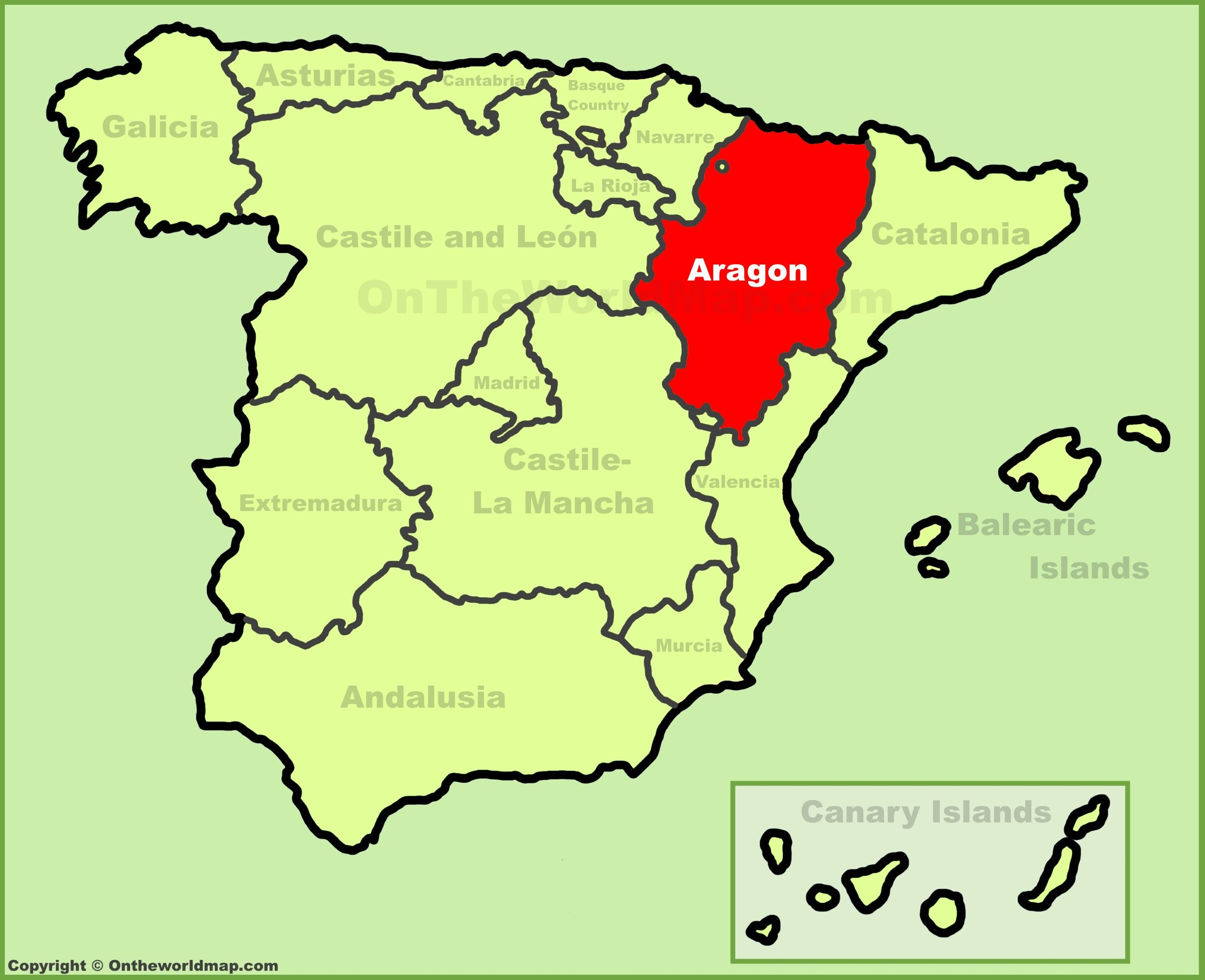 Image result for aragon spain map El Camino Pinterest Aragon