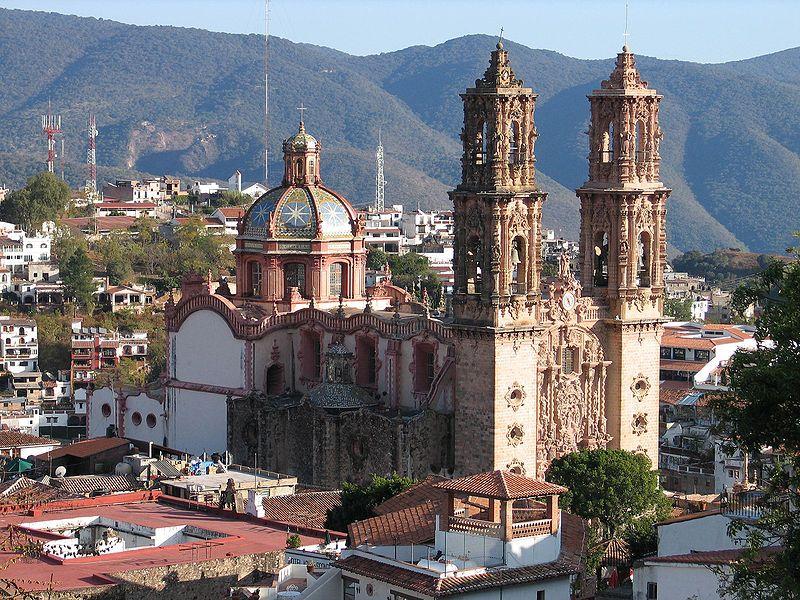 Taxco, Estado de Guerrero: Iglesia de Santa Prisca