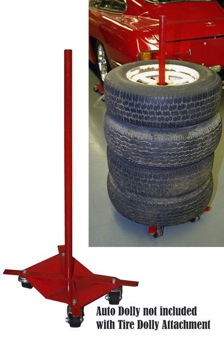 Car Dolly Tire Attachment