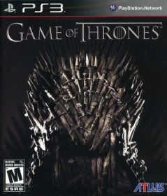 Game of Thrones PS3 Video Game DIOR HOMME VINTAGE BUSINESS