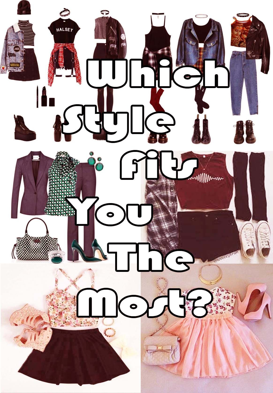 Which Style Fits You The Most?   Outfits quiz, Personal