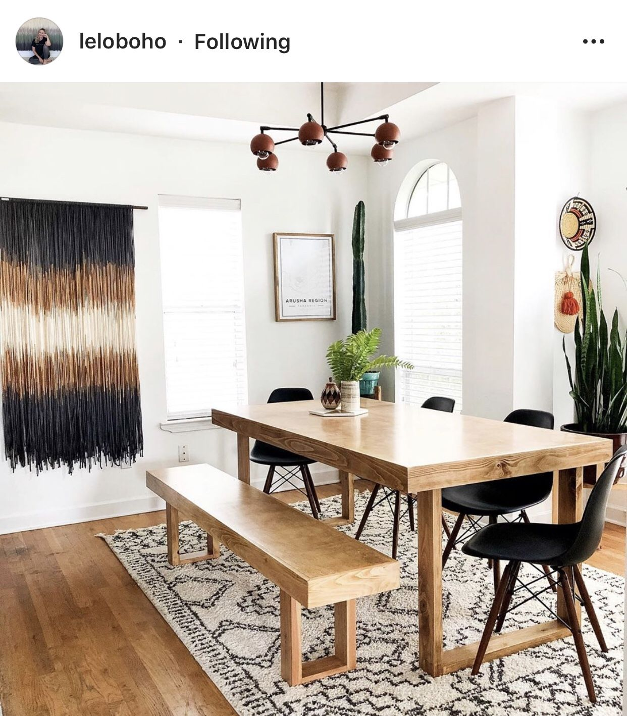Modern Desert in 2020 (With images) | Boho dining room ...