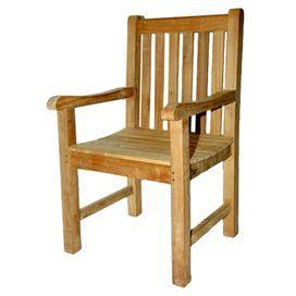 Block Island Teak Arm Chair