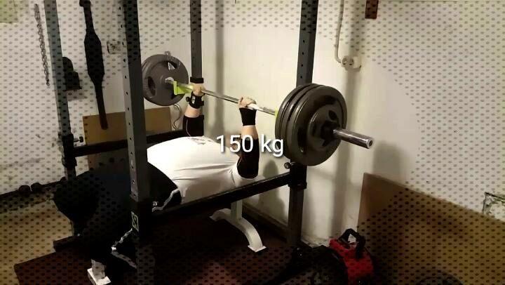 150 kg . .