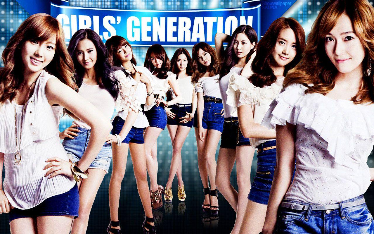 girls generation snsd asians korean korea kpop genie