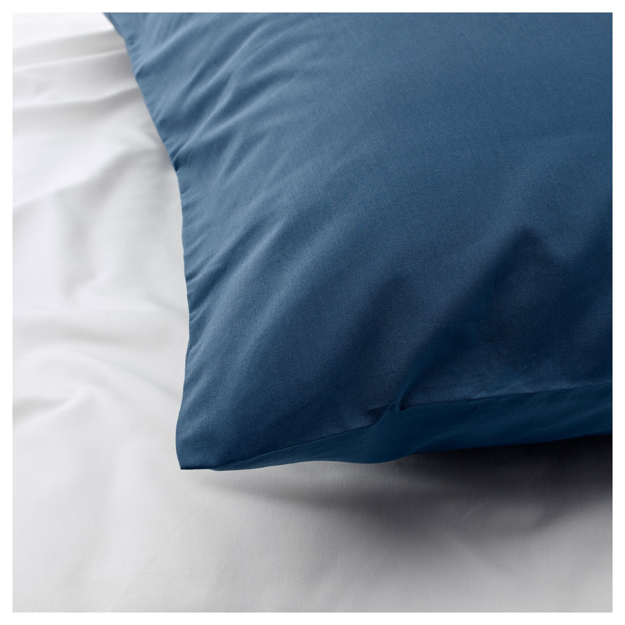 Ikea Ullvide Pillowcase Dark Blue In 2020 Pillow Cases Linen - Ikea Stoffe Schadstoffe