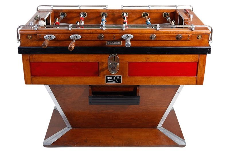 Art Deco original table football, France, 1940's on CLASSIQS - www.classiqs.com