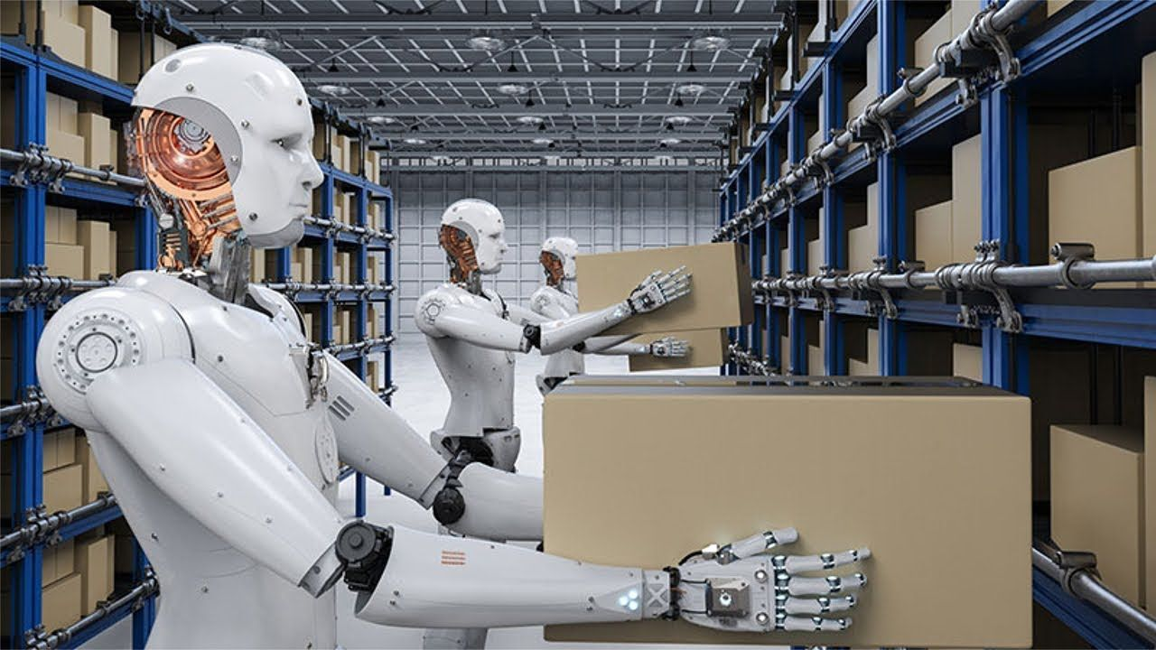 Robots taking the last jobs supply chain management