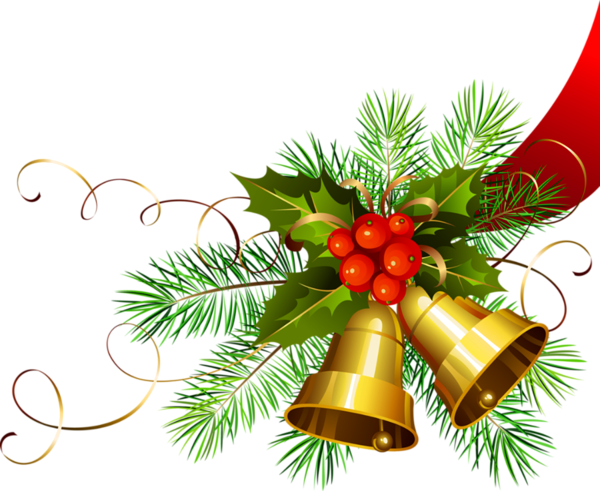 Transparent Christmas Gold Bells Christmas Clipart Gold Christmas Christmas Images